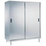 Шкаф для продуктов, 2 полки, 2 раздвижные дверцы, 1400 мм