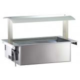 Ванна холодильная встраиваемая с верхней структурой (3GN) DIVRWG3R 340281
