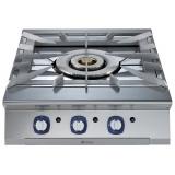 Газовая плита верхнего расположения, 3 концентрические горелки (1x5 кВт, 1x10 кВт, 1x15 кВт) - HP
