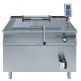160/190-л газовый универсальный варочный аппарат, автоматический, прямой нагрев, опрокидываемая корзина 1х20 кг