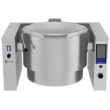 100-л газовый варочный котел (h), опрокидываемый, пар - электронная система управления, моноблок