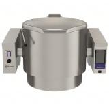 150-л газовый варочный котел настенного крепления, опрокидываемый, пар - электронная система управления, моноблок