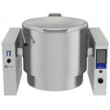 300-л газовый варочный котел (h), опрокидываемый, пар - электронная система управления, моноблок
