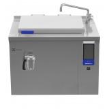 110-л электрическая тигельная сковорода (h) со смесителем, прямоугольная, брызгозащита