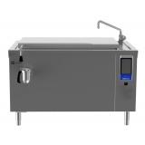 125-л электрическая тигельная сковорода (h) со смесителем, прямоугольная, моноблок