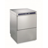 Компактная посуждомоечная машина, усиленный бойлер под давлением, 4,5 кВт, дренажная помпа, дозатор моющего средства, 540 тар/час