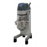 20-л планетарный миксер: напольный, механический вариатор скорости, датчик дежи, 3 насадки, сплошной защитный экран