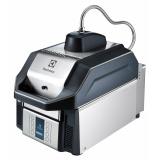 Скоростной СВЧ-гриль SpeeDelight с автоматич. регулировкой положения верхней рифленой контактной плоскости, темно-серый