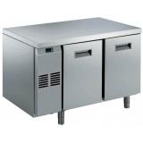 Двухдверный холодильный стол, -2/+10°C, н/сталь AISI 304, для работы с выносным агрегатом