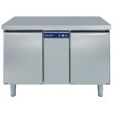 Двухдверный морозильный стол 290 л, -22° -15°C, н/сталь AISI 304, для работы с выносным агрегатом