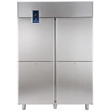 Морозильный шкаф 1430 л, 4 секции, -22° -15°C, цифровой дисплей, н/сталь AISI 304