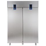 Двухдверный холодильный шкаф с двумя агрегатами, 1430 л, -2° +10°C / -2° +10°C, цифровой дисплей, н/сталь AISI 304