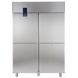 Холодильный шкаф 1430 л (R290), 4 секции, -2° +10°C, цифровой дисплей, н/сталь AISI 304