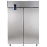 Морозильный шкаф 1430 л (R290), 4 секции, -22° -15°C, цифровой дисплей, н/сталь AISI 304