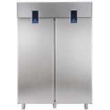 Двухдверный холодильный шкаф с двумя агрегатами 1430 л (R290), -2° +10°C / -2° +10°C, цифровой дисплей, н/сталь AISI 304