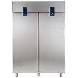 Двухдверный холодильный шкаф с двумя агрегатами 1430 л (R290), -2° +10°C / -22° -15°C, цифровой дисплей, н/сталь AISI 304