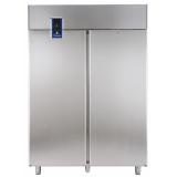 Двухдверный морозильный шкаф 1430 л, -22° -15°C, цифровой дисплей, н/сталь AISI 304