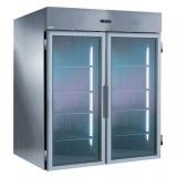 Двухдверный холодильный шкаф для вкатной тележки 2700 л, +2° +10°C, н/сталь AISI 304, для работы с выносным агрегатом