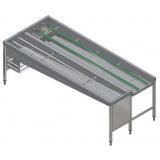 Автоматический сортировочный стол, 5 корзин, л>п, 2640 мм