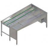 Автоматический сортировочный стол, 4 корзины, п>л, 2130 мм