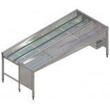 Автоматический сортировочный стол, 5 корзин, п>л, 2640 мм