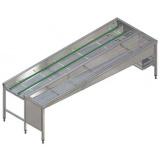 Автоматический сортировочный стол, 6 корзин, п>л, 3150 мм