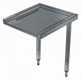 Стол к посудомоечной машине, загрузка/выгрузка, 800 мм