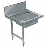Стол предварительной мойки с глубокой ванной, левой, 900 мм, BHPPTB09L