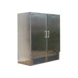 Шкаф холод. высокотемп. ШВУП1ТУ-1,6М(В/Prm)/нерж. (Duet с глух. дверьми)