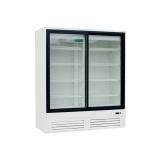 Шкаф холод. высокотемп. ШВУП1ТУ-1,4К(В/Prm) (Duet G2-1,4 со стекл. дверьми)