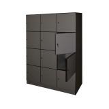 Шкаф ST SH (SUM 12D, 1270x500x1800, 12 секций, серый)