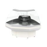 Витрина холодильная ВПС 0,21-0,92 (Gamma-2 ОС 90 Д) (RAL 9010 всё белое)