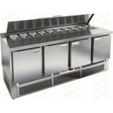 SLE1-1111GN стол холодильный для салатов (саладетта)