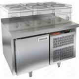 GN 1/TN LT стол холодильный под тепловое оборудование