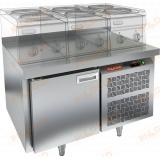 SN 1/TN LT стол холодильный под тепловое оборудование