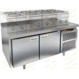 GN 11/TN LT стол холодильный под тепловое оборудование