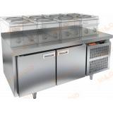 SN 11/TN LT стол холодильный под тепловое оборудование