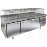 GN 111/TN LT стол холодильный под тепловое оборудование