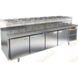 GN 1111/TN LT стол холодильный под тепловое оборудование