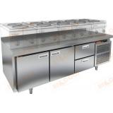 GN 112/TN LT стол холодильный под тепловое оборудование