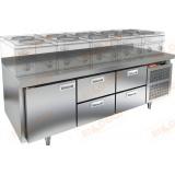GN 122/TN LT стол холодильный под тепловое оборудование