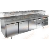 GN 1112/TN LT стол холодильный под тепловое оборудование