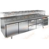 GN 1122/TN LT стол холодильный под тепловое оборудование