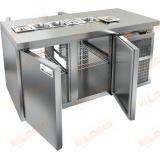 SL2T-11/GN стол холодильный для салатов (саладетта)
