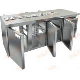 SL2T-111/GN стол холодильный для салатов (саладетта)