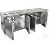 SL2T-1111/GN стол холодильный для салатов (саладетта)