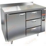 GN 13/TN P стол холодильный (без агрегата)