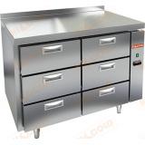 GN 33/TN P стол холодильный (без агрегата)