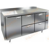 GN 122/BT P стол морозильный (без агрегата)
