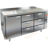 GN 133/TN P стол холодильный (без агрегата)